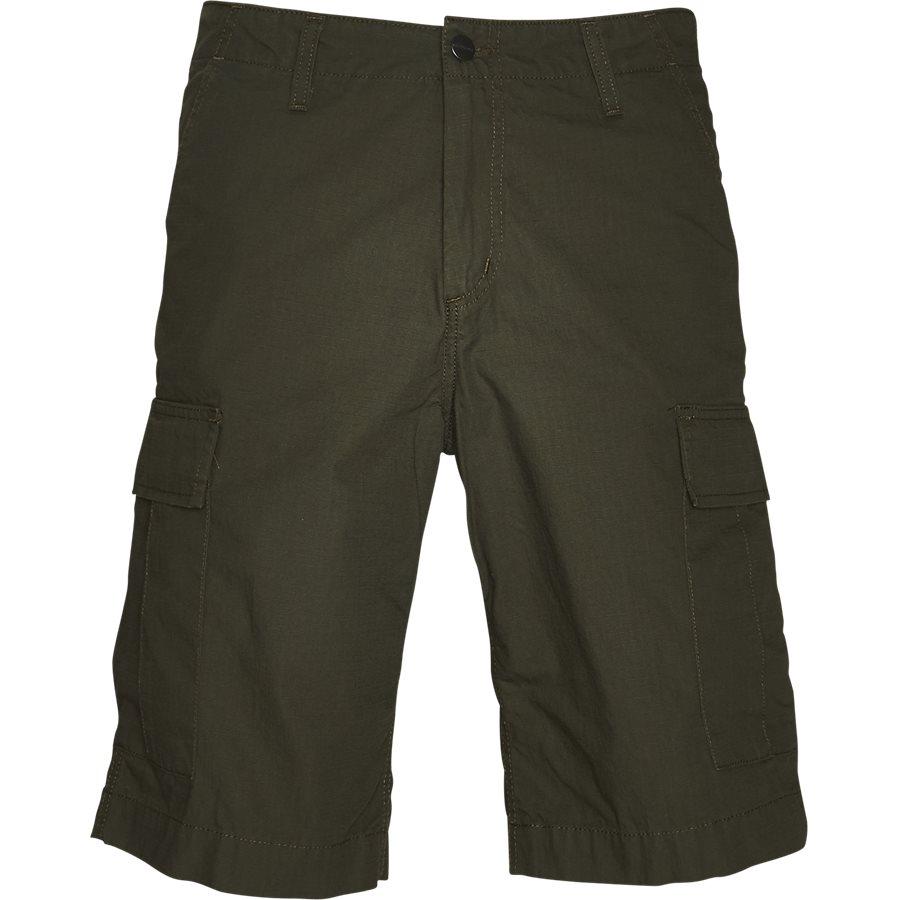 REGULAR CARGO SHORT I015999 - Regular Cargo Shorts - Shorts - Regular - CYPRESS RINSED - 1
